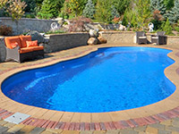 Landscaping and swimming pool installation london for Pool design london ontario